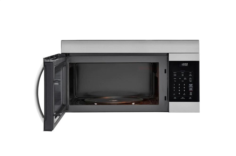 lg lmv1764st 1 7 cu ft over the range microwave oven with easyclean