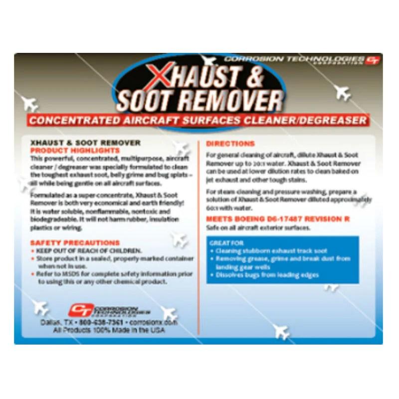 corriosion technologies xhaust soot remover pilots hq llc