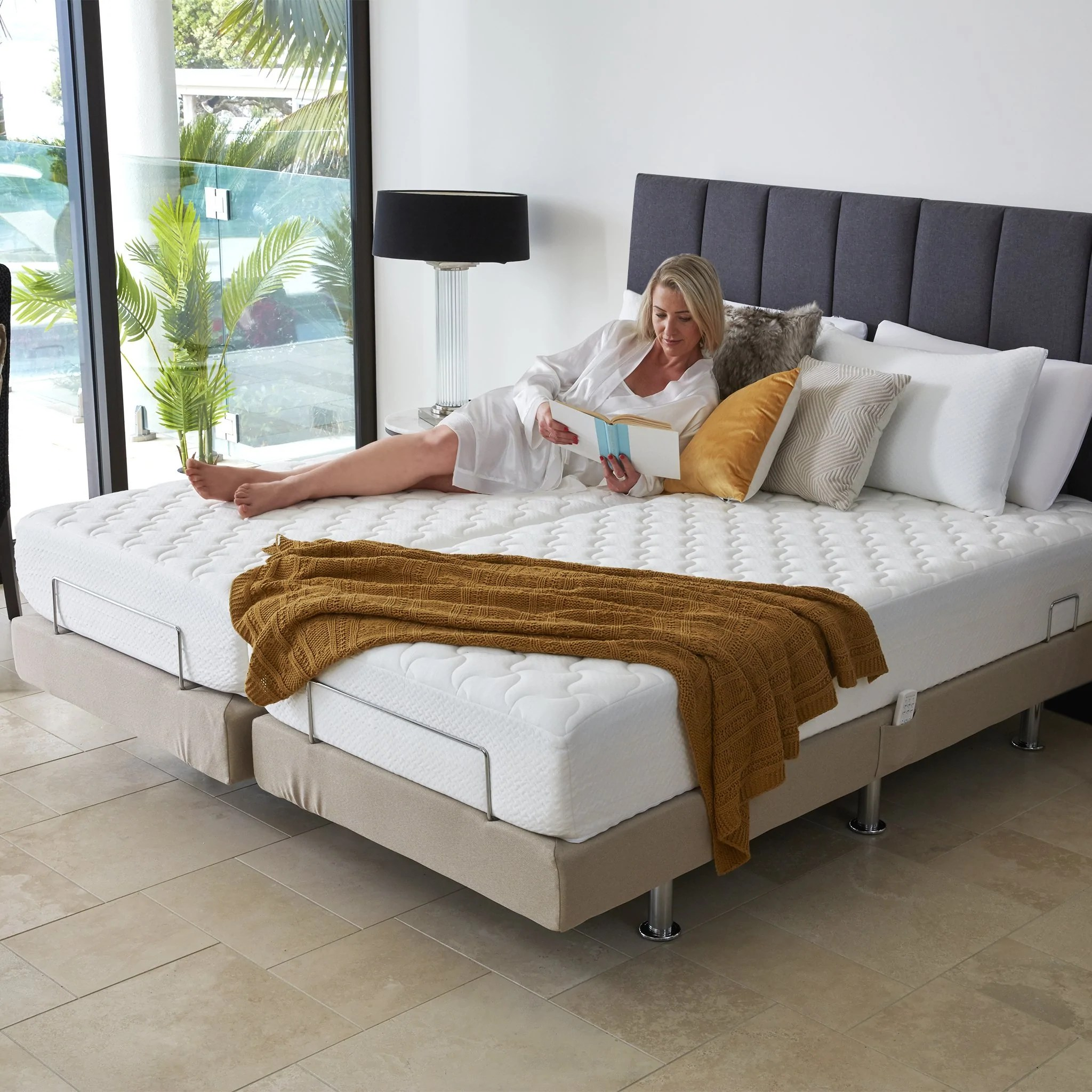 Perfect Fit Adjustable Massage Bed Split King Bambillo Nz