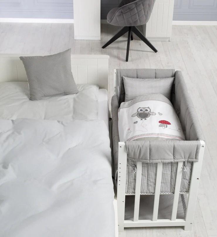 lit d appoint adam et eule 4 en 1 lit bebe berceau et banc enfant roba