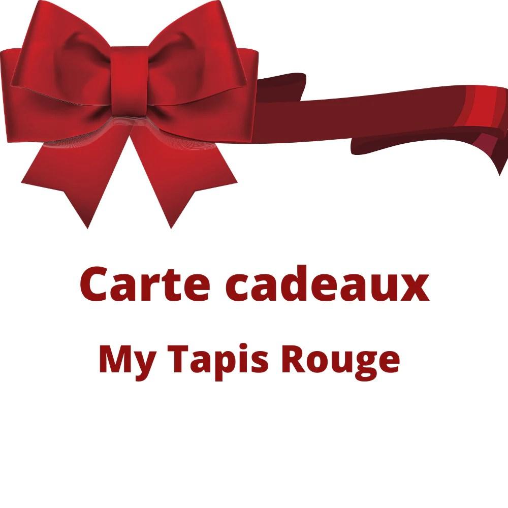 carte cadeaux my tapis rouge