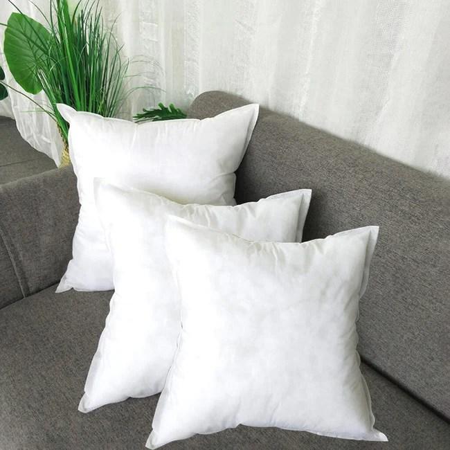 18 x18 white pillow insert