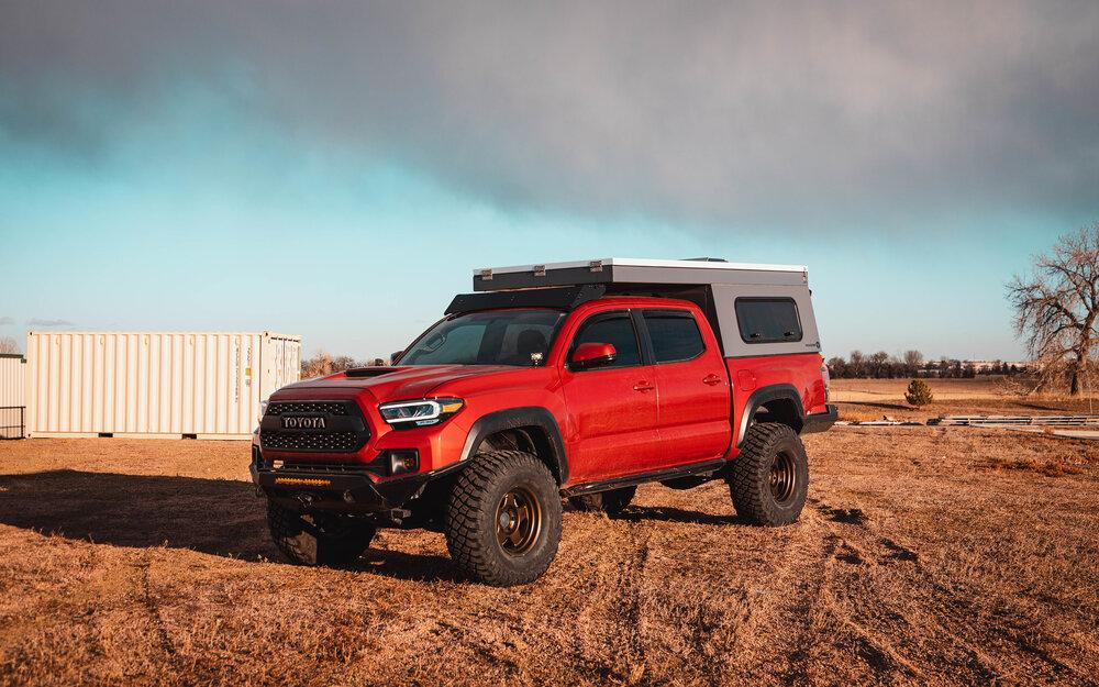 the animas 2005 2021 tacoma camper roof rack