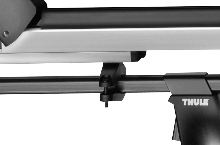 thule universal ski rack mounting kit