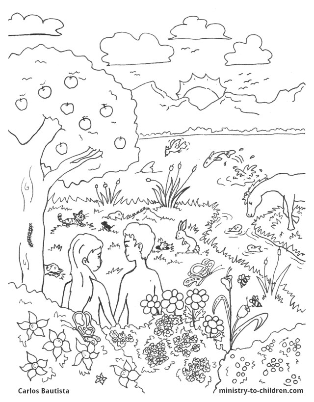 Creation Coloring Pages (Easy Print PDF) Ministry-To-Children