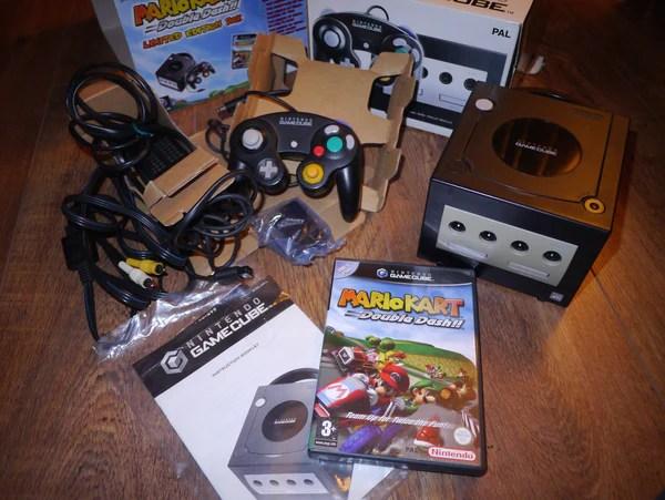 Nintendo GameCube Console Black Mario Kart Double Dash