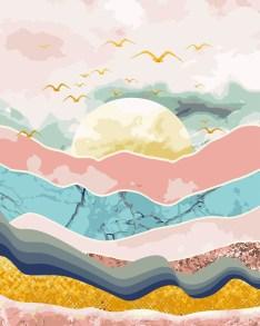 DIY Painting By Numbers - Sunrise & Awake – Painterhouses