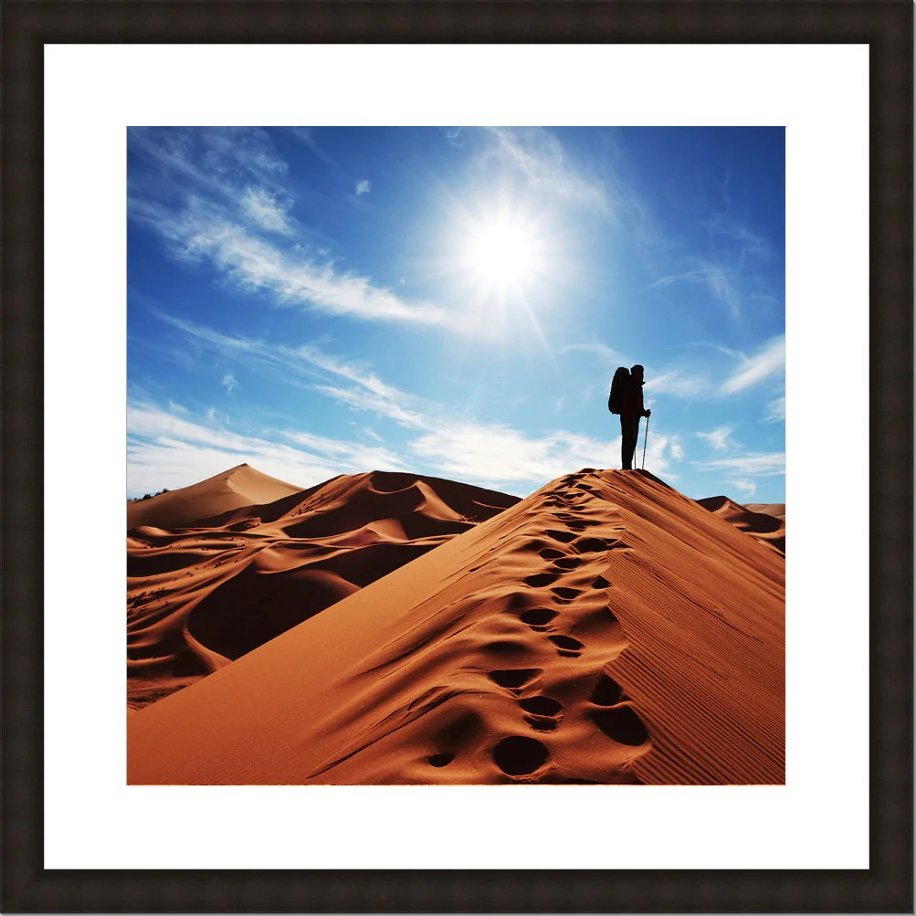 picture frame black 1 24x24 30x30