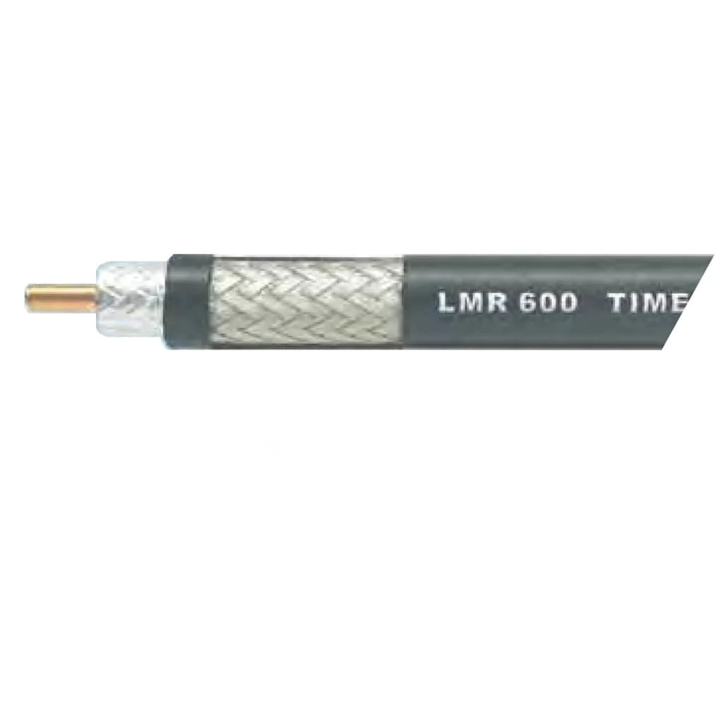 times microwave 1 2 lmr 600 series coaxial cable