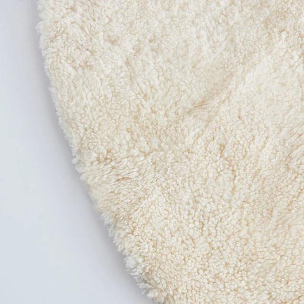tapis rond en laine mon tapis rond