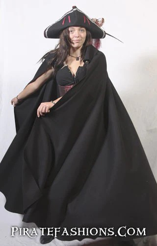 Dark Weather Cloak Pirate Fashions