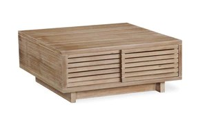 fjord coffee table square sliding hidden cabinet