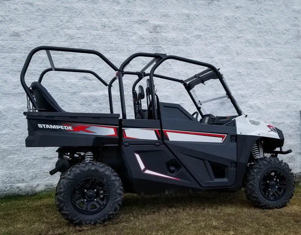Textron Stampede Back Seat And Roll Cage Kit Utv Accessories