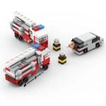 Lego Micro Fire Truck Instructions Afol Tv