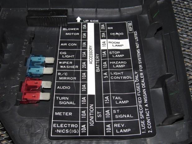 1995 Nissan 240sx Interior Fuse Box Diagram | Brokeasshome