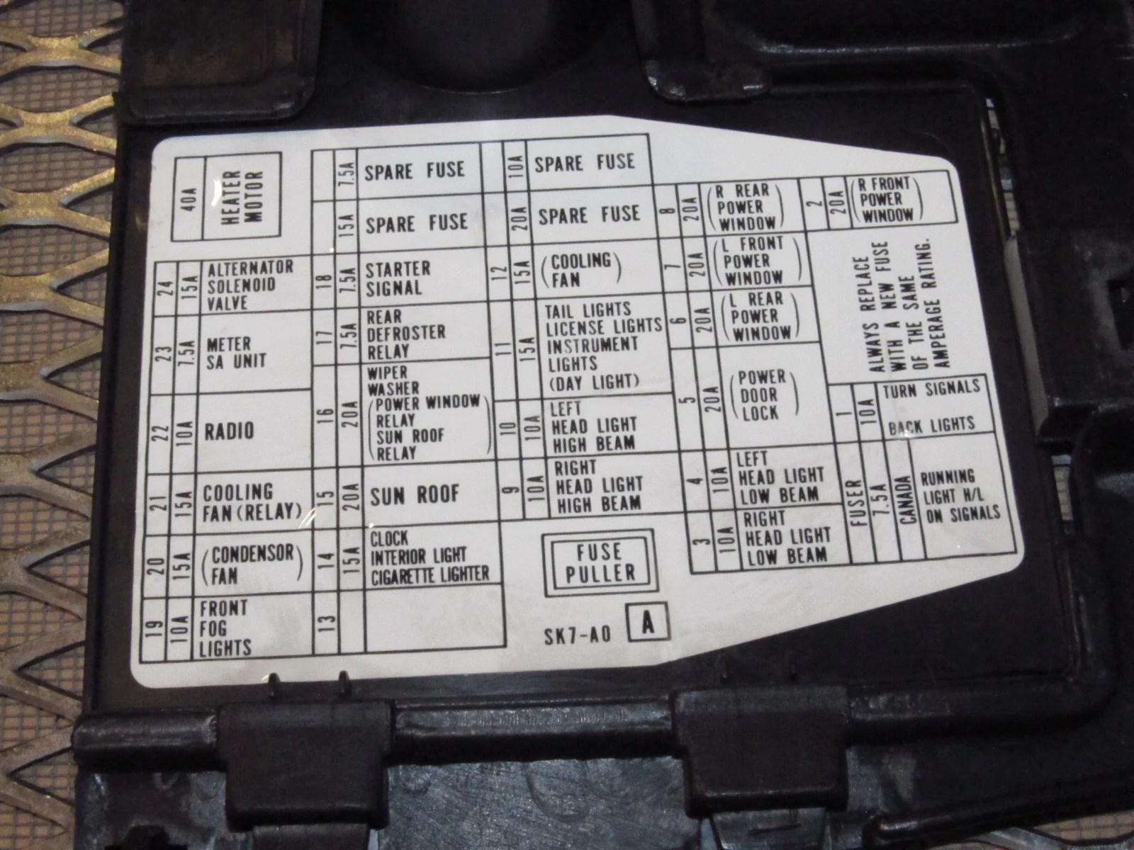 90 91 92 93 Acura Integra OEM Kick Panel Cover Set