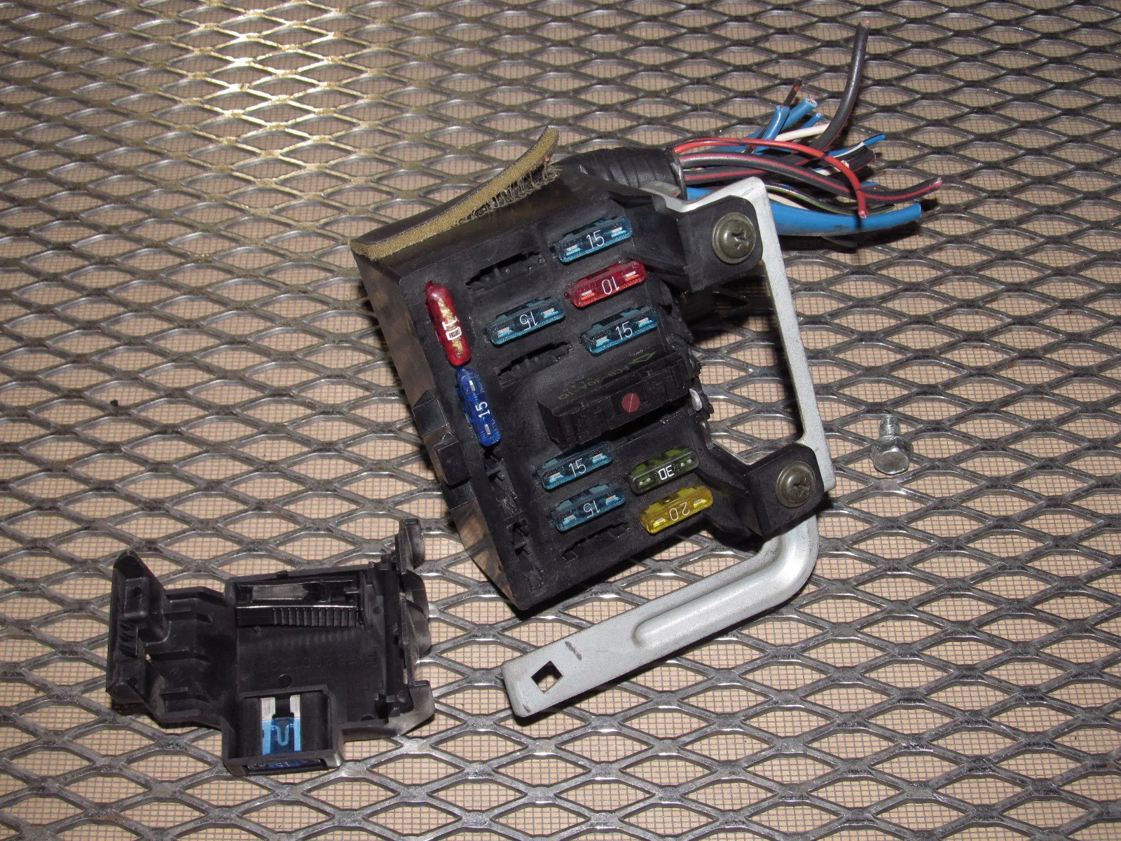 Ka24de Wiring Diagram Also Nissan S14 Fuse Box Cover On Nissan S14