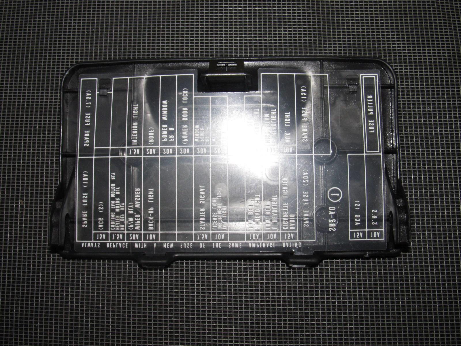 93 94 95 96 97 Honda Del Sol OEM Interior Fuse Box Cover