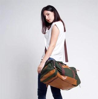 duffel bag wanita