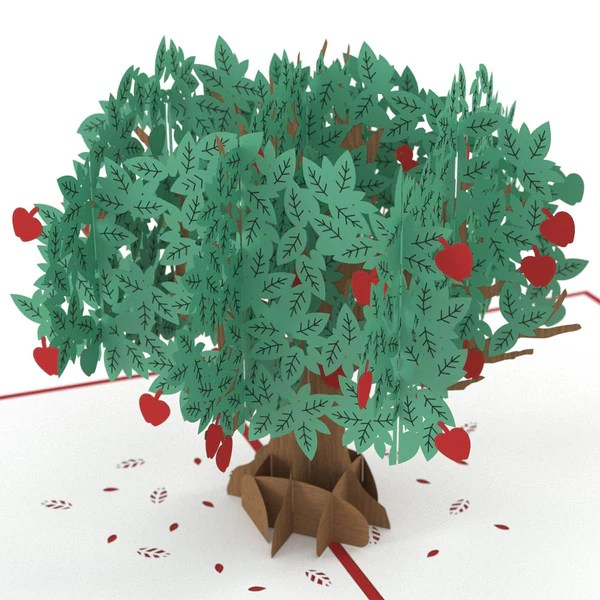 Apple Tree Pop Up Card Lovepop