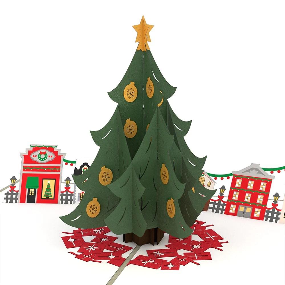 Christmas Tree Village Pop Up Card Lovepop