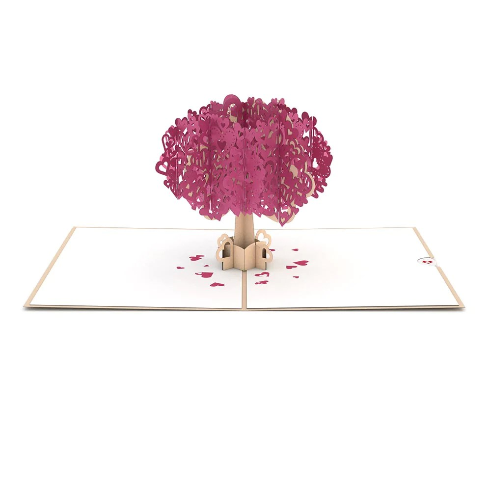 Heart Tree Pop Up Card Lovepop