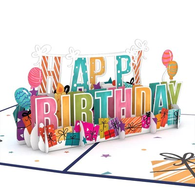 Birthday Cards Pop Up Bday Cards Lovepop