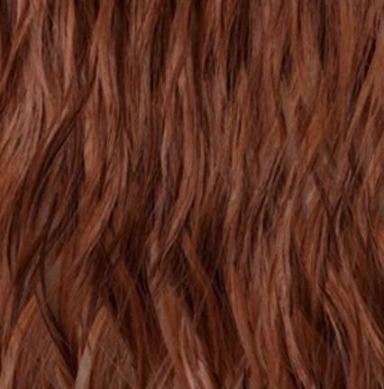 30 Medium Auburn Clip In Curly Hair Extensions Wavy