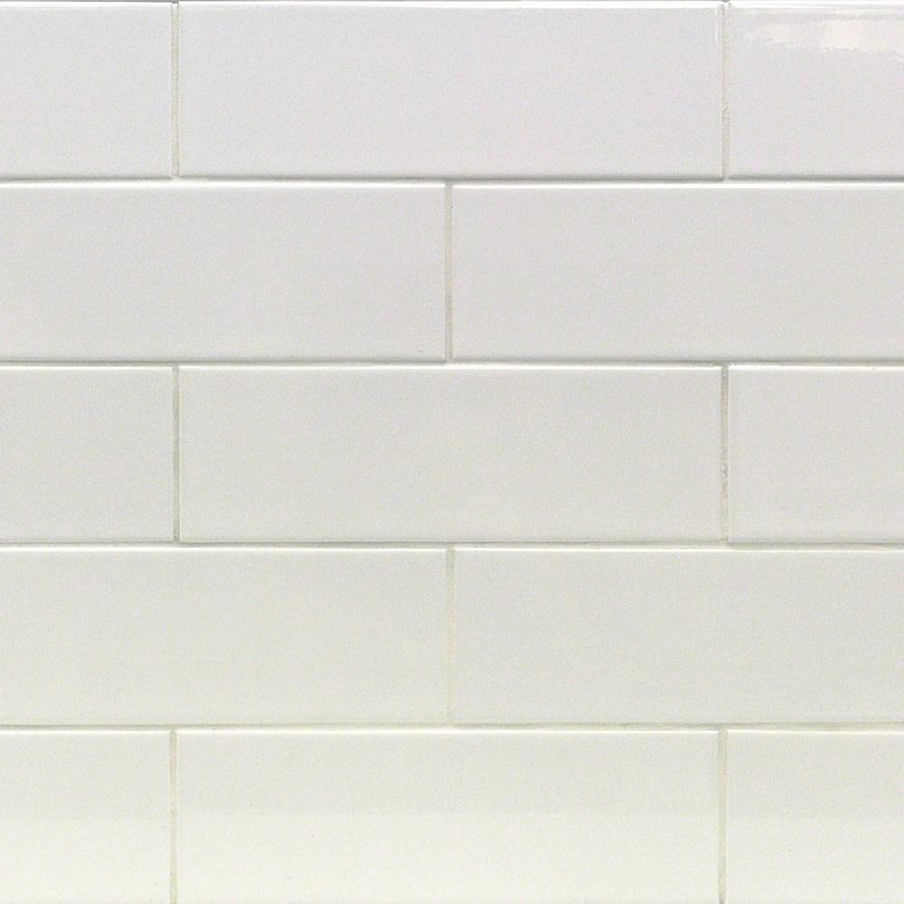4x12 white subway tile