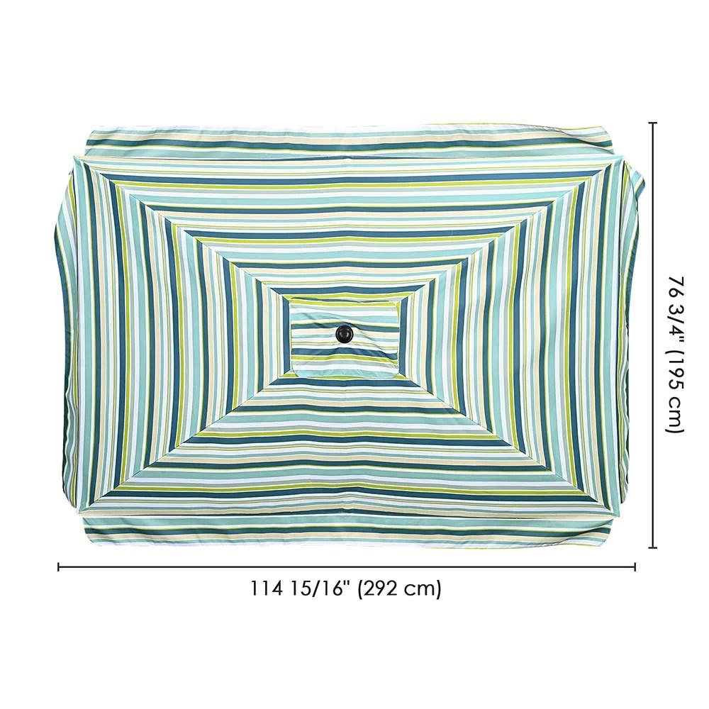 10x6 5 foot rectangular patio outdoor