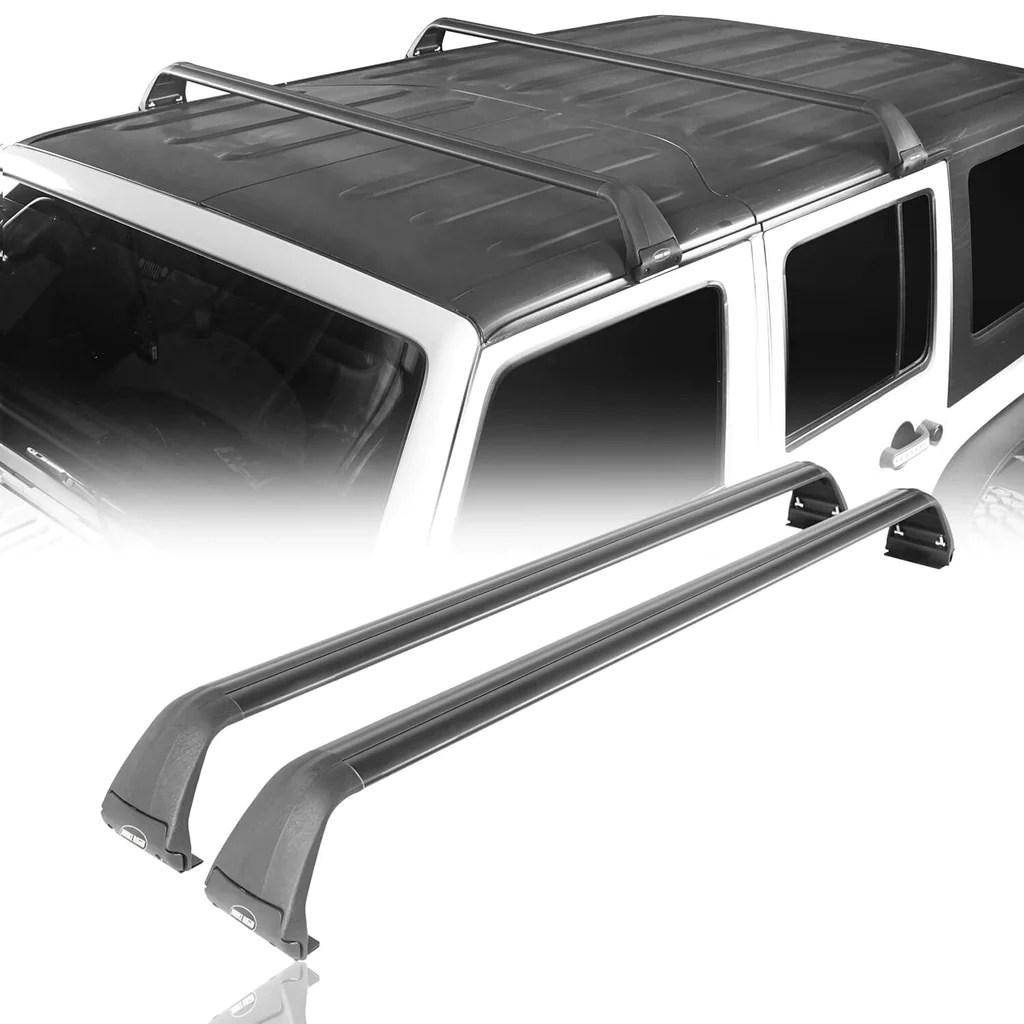 jeep roof rack cross bars side rail for