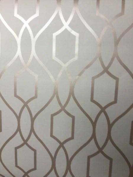 Fine Decor Wallpaper Apex Trellis Soft Gold FD41997