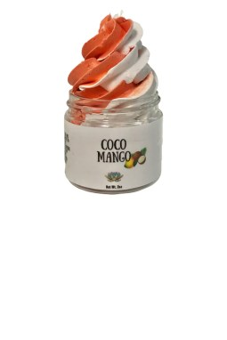 The Coco Mango whipped soap from Aroma Delights