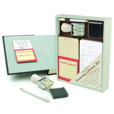 gifts for book lovers - library kit