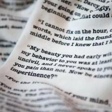 Book Scarf - Pride & Prejudice - Jane Austen