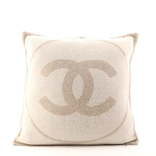 cc throw pillow wool