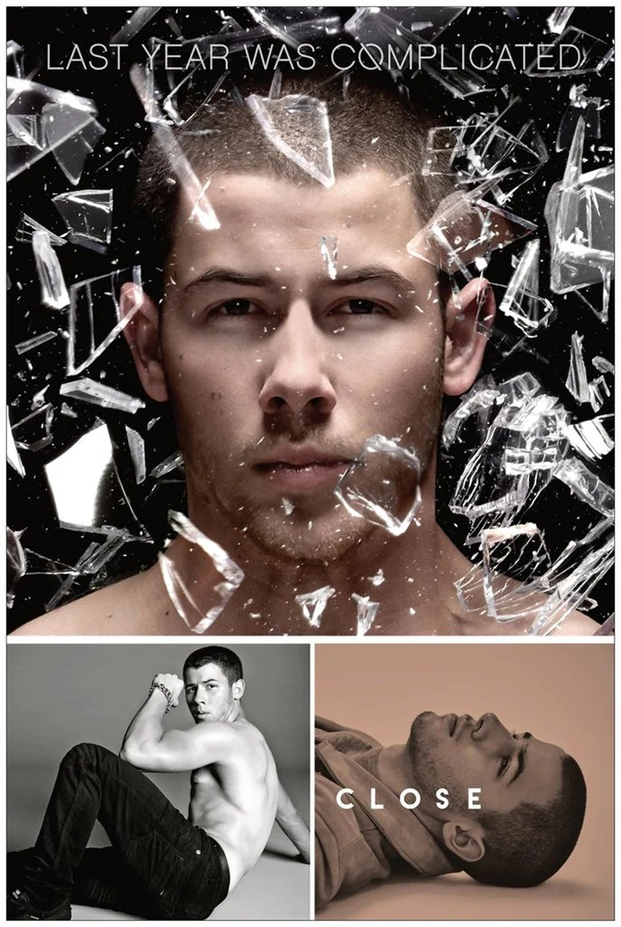 nick jonas last year was complicated promo poster 24x36