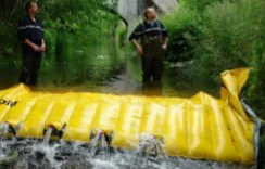 WaterGate Oil and Chemical Spill Containment Barrier