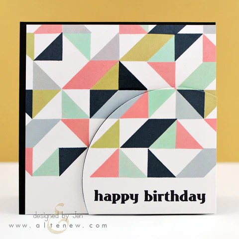 simple shapes card 1
