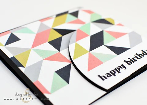 simple shapes card 2