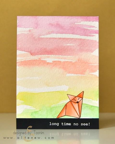 ori kami fox card