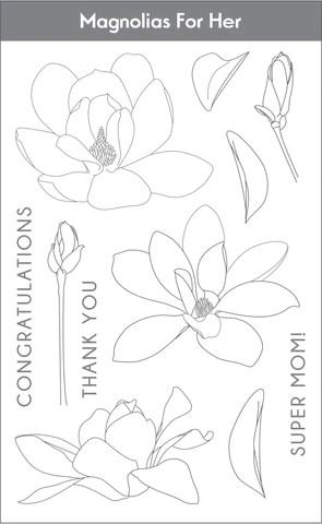 Magnolias for Her set