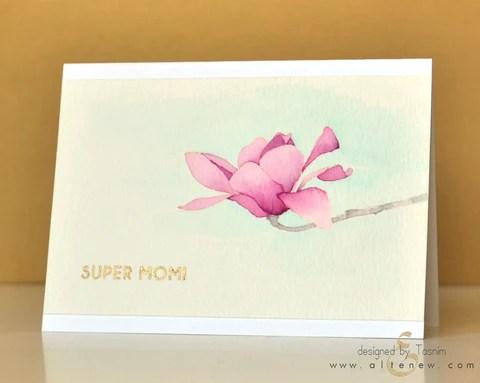 Magnolia card 5