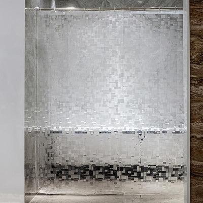 rideau de douche transparent mon