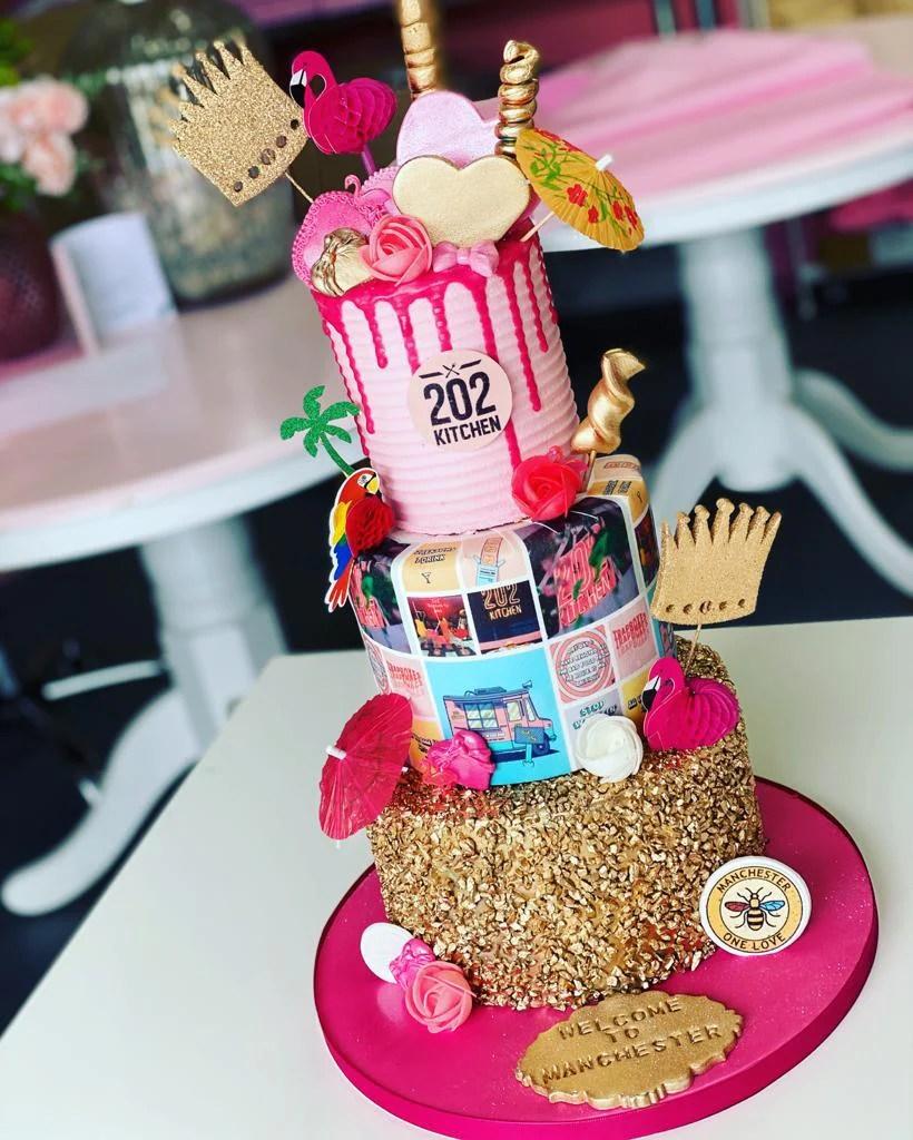 3 Tier Cake Doughnut Cupcake Offer Zara Cakes