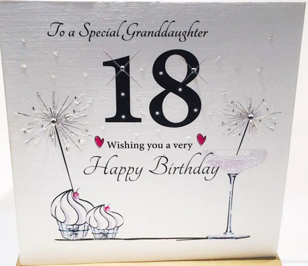 18th Birthday Card For A Special Granddaughter 18 Card Granddaughter 18th Birthday Card For Granddaughter 18th Birthday Card For My Granddayghter 18th Birthday Card Granddaughter 18th Birthday Cards Granddaughter 18th Card Granddaughter