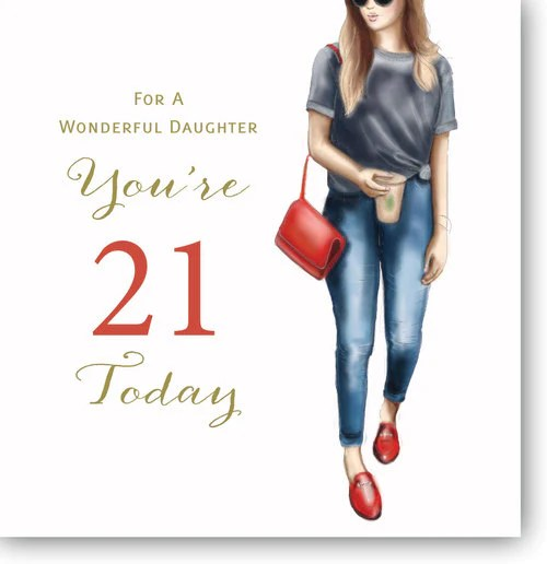 Happy 21st Birthday Card Granddaughter 21st Birthday Card 21st Birthday Card Granddaughter Greeting Cards Herbys Gifts Cards