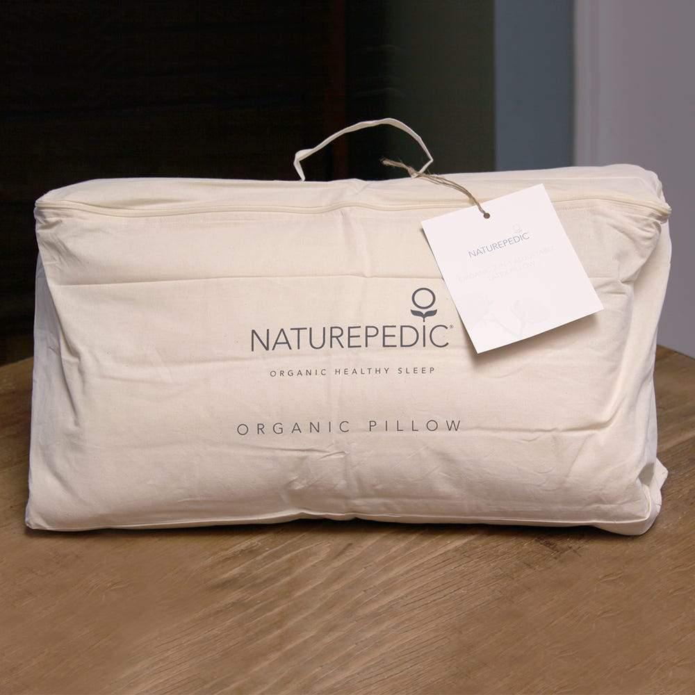 organic 2 in 1 adjustable latex pillow