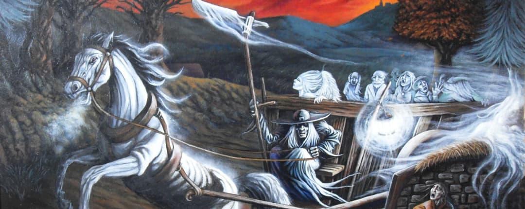 Ankou the Celtic Grim Reaper