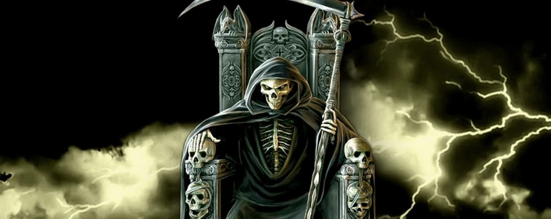 La Santa Muerte Black